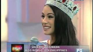 Startalk: Miss World Philippines 2014 Valerie Weigmann live!