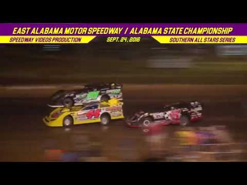 RacersEdge Tv | Southern All Stars | East Alabama Motor Speedway | Sept  24 , 2016