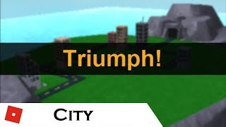 Triumph: City (Quad-Op) (OLD) | Tower Battles [ROBLOX]