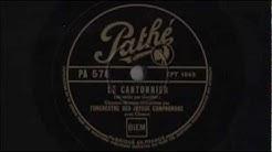 Jazz français - Sur la route de Louviers (à la tienne Étienne!) - Les Joyeux Compagnons - 1935