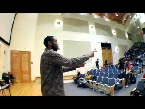 Professor 9th Wonder, Sampling Soul class, Duke University
