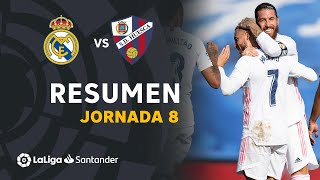 Resumen de Real Madrid vs SD Huesca (4-1)
