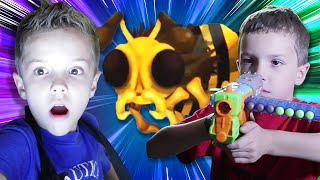 Nerf Battle:  Flying Bug Attack Rewind  Twin Toys