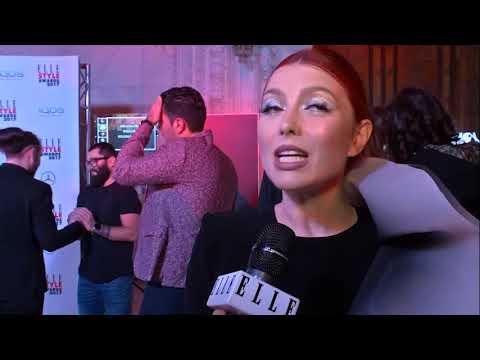 Elena Gheorghe, la ELLE Style Awards 2017