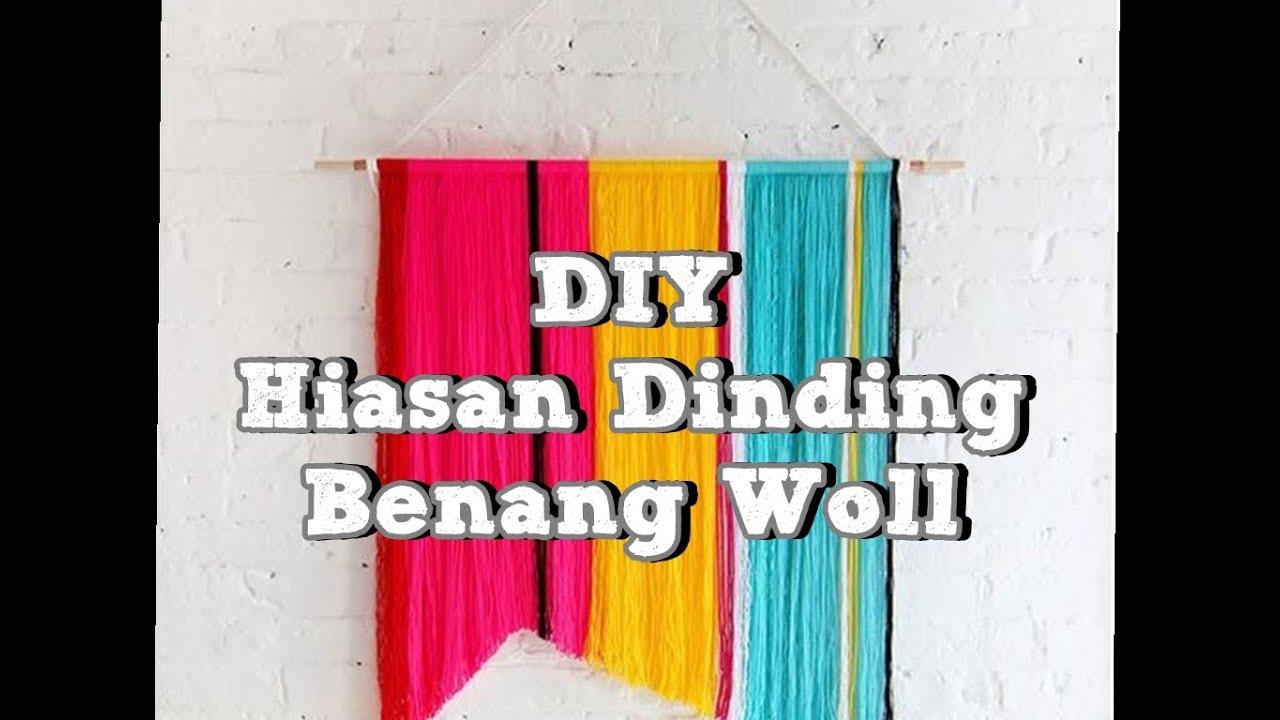 Diy Kerajinan Tangan Hiasan Dinding Benang Woll In Boso Jowo You