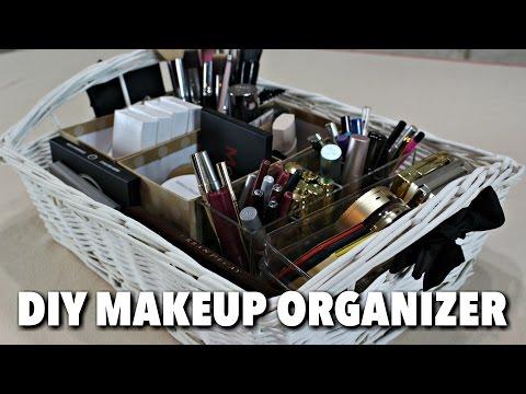 DIY Makeup Organizer - HGTV Handmade