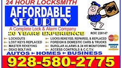 Locksmith Somerton Az  | Somerton Lock & Key | 24 Hour Locksmith Somerton Arizona