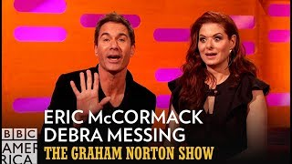 Madonna Could Never Remember Eric McCormack or Debra Messing's Name - The Graham Norton Show