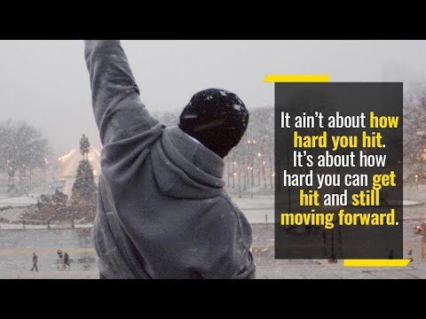 Rocky tells you exactly how winning is done | Rocky Balboa