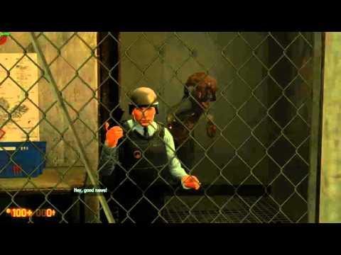 Black Mesa - OC Storage Area Guard Scene