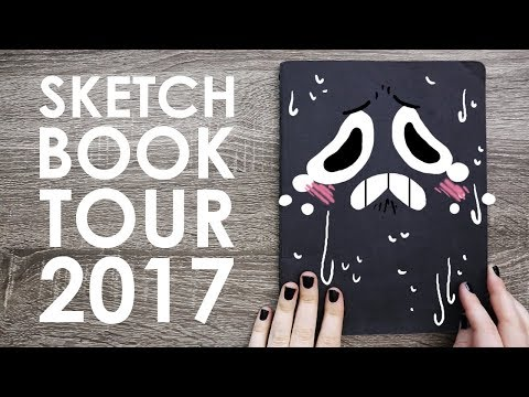 Sketchbook Tour 2017 - PLEASE DON'T LOOK