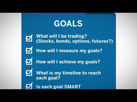 Step 1. Your Trade Plan Objective
