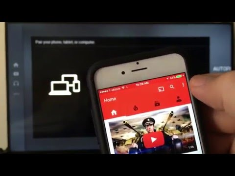 ALL Iphones: How to Cast / Pair YouTube App to Smart TV (WIRELESSLY- NO CABLE CONNECTIONS)