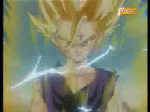 gohan vs cell - evanescence - lithium - by loris