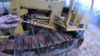 New starter in a D4 dozer