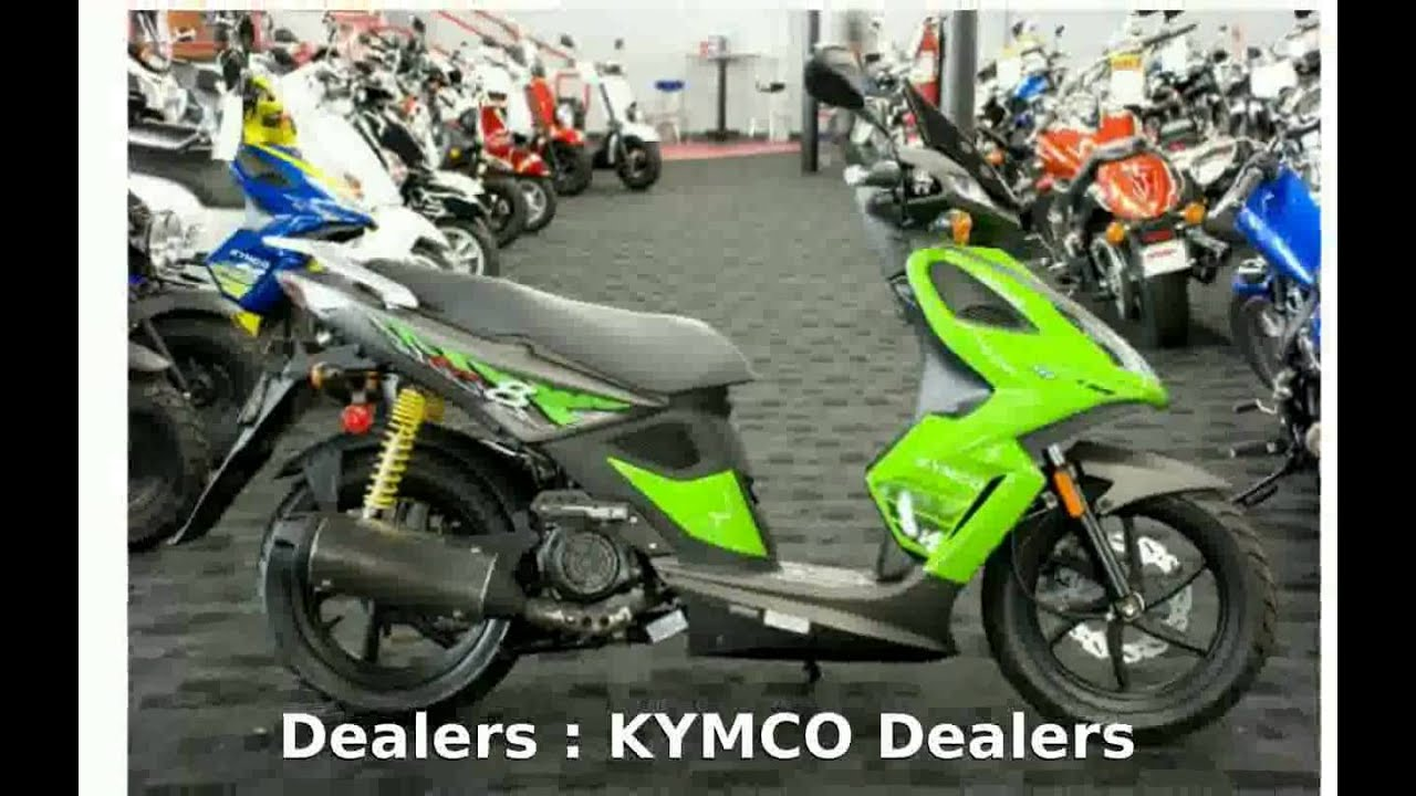 2009 KYMCO Super 8 150 - Features, Specification - YouTube