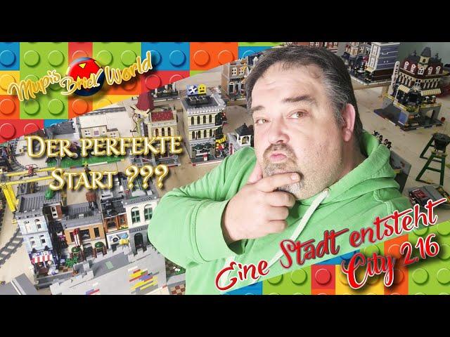 Lass es uns tun ??? - bau meiner Lego Stadt - Lego City Update 2.16