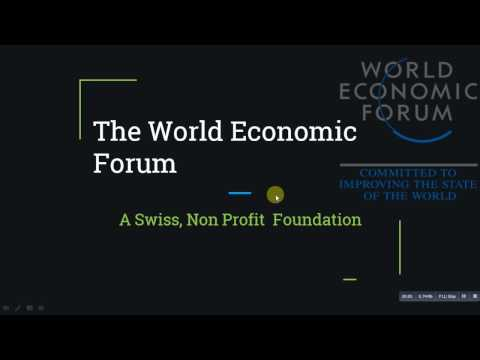 The World Economic Forum and China's Role  - 2017  FOR UPSC/SSC/IAS