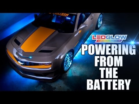 LEDGlow | Powering Your Kit Directly From The Battery