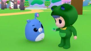 Развивающий мультфильм - Руби и Йо-Йо - Фонарик из стеклянных шариков