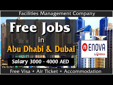 FREE Jobs in Abu Dhabi & Dubai 2020 | Technician Job Vacancies in UAE | High Salary | Gulf Job Guide