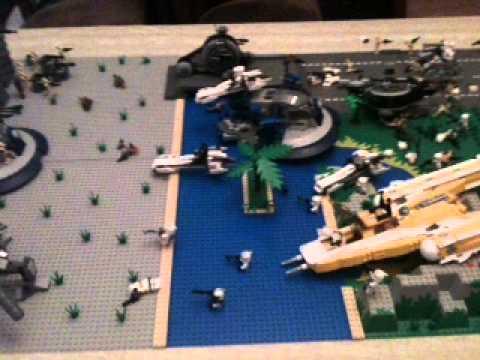 Lego star wars clone wars moc droid base youtube - Lego star wars base droide ...