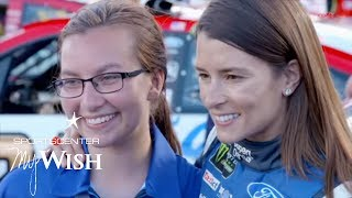 Young Fan Gets Dream Day With Danica Patrick At Daytona | My Wish | ESPN Stories