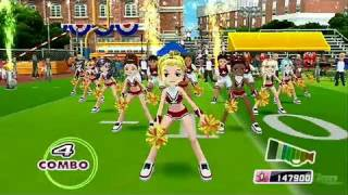 We Cheer 2 Nintendo Wii Gameplay - Tub Thumping
