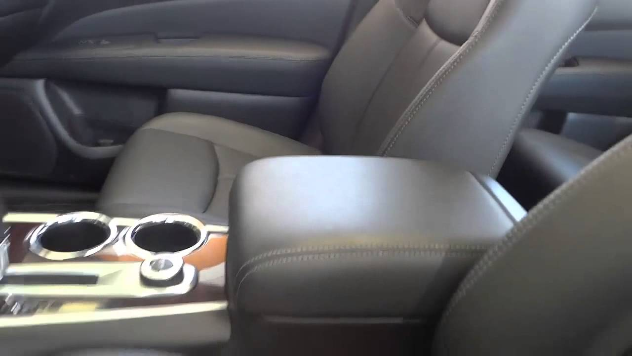 2014 Nissan Pathfinder Interior With Screen In Headrest Youtube