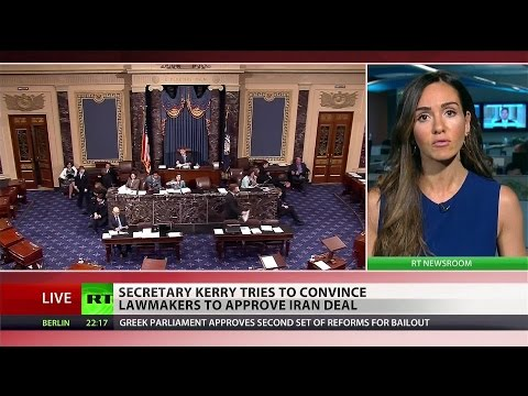 "'No fantasy agreement"" Kerry defends Iran Nuke treaty in Senate"