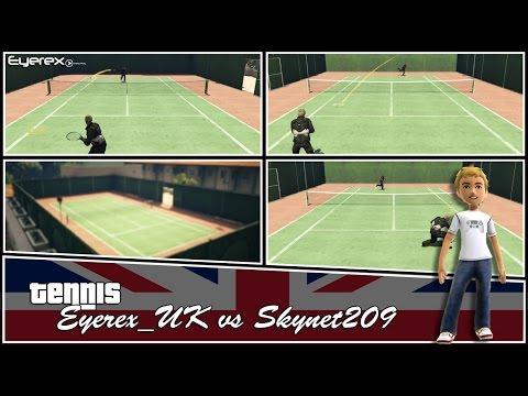 GTA 5 Online Tennis Eyerex_UK vs Skynet209