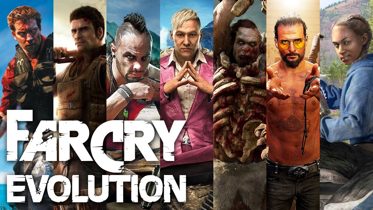 The Evolution Of Far Cry All Games From 2004 To 2019 History Video Youtube