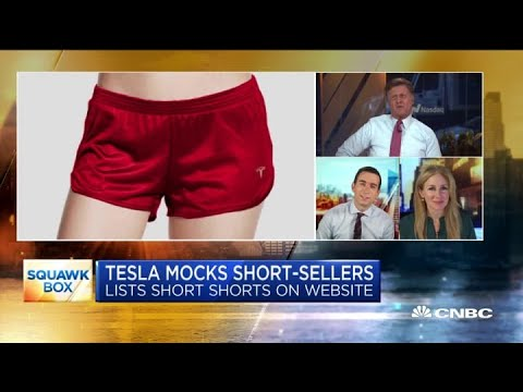 Here is Elon Musk's merchandise from red Tesla shorts to ...