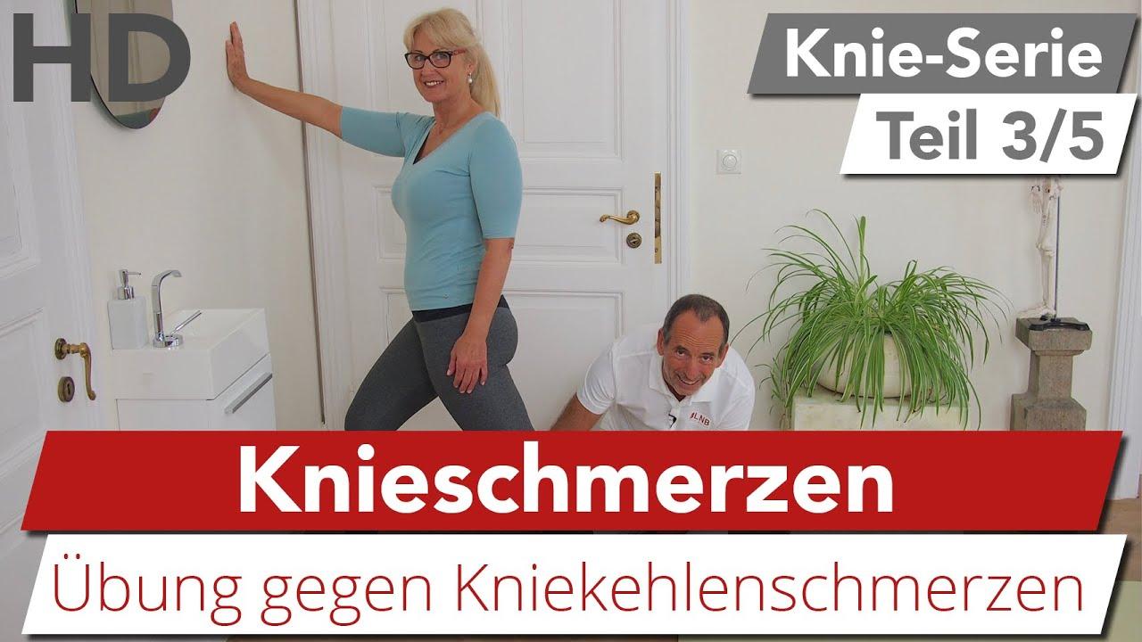 Knieschmerzen Einfache & effektive Übungen gegen Schmerzen in der Kniekehle