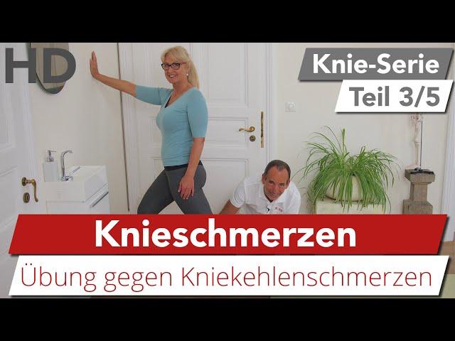 Knieschmerzen // Einfache & effektive Übungen gegen Schmerzen in der Kniekehle