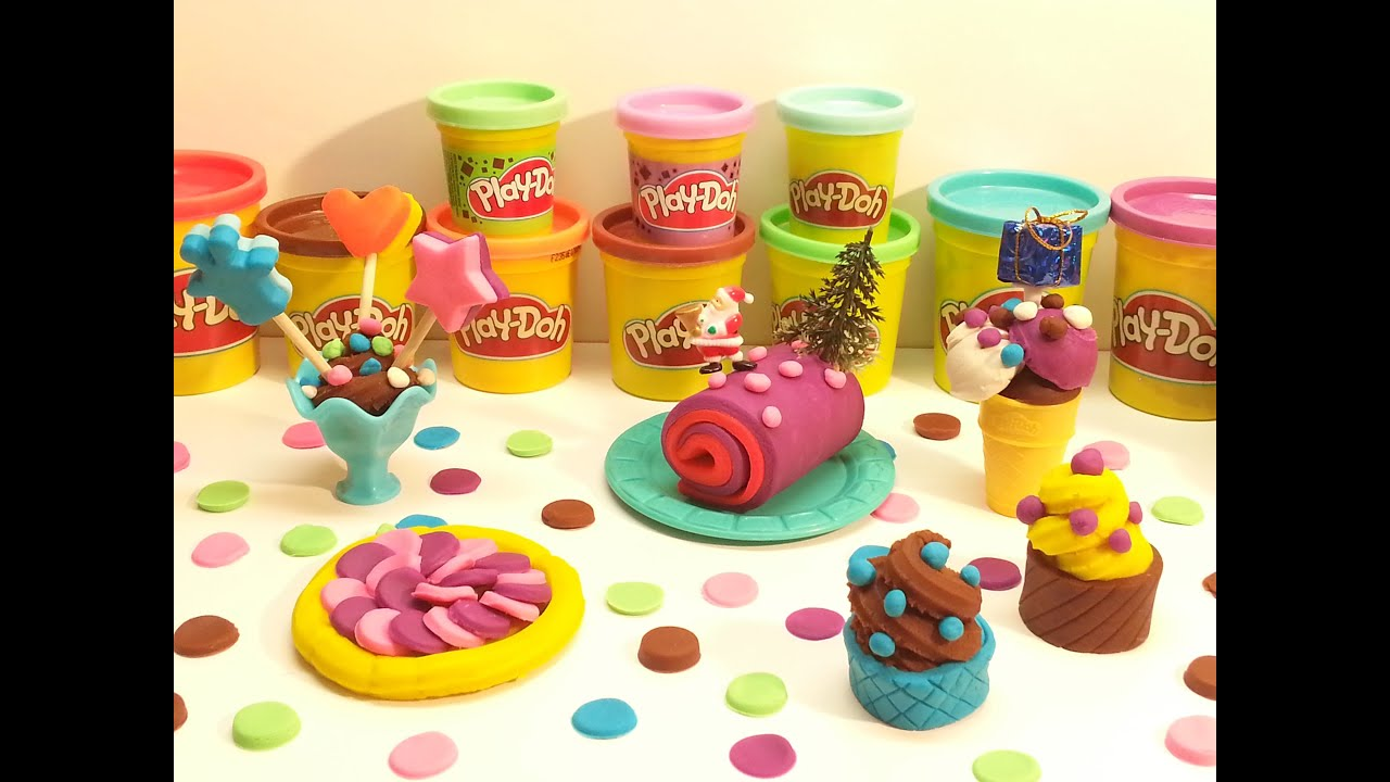 Play Doh Ice Cream And Cake