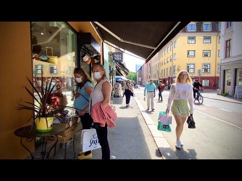Walking Oslo june 2021 🏃🏻♀️ Markveien - Grünerløkka by oslo elsa67