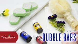 DIY Bubble Bath Bars Using Young Living Essential Oils