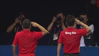 Wang Hao Wins Men