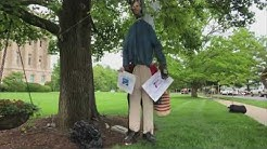 RAW: Effigy of Kentucky Governor hung from tree near state Capitol during 2nd Amendment rally