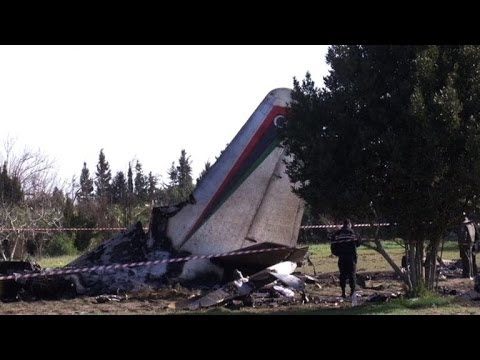 Libyan military plane crashes in Tunisia