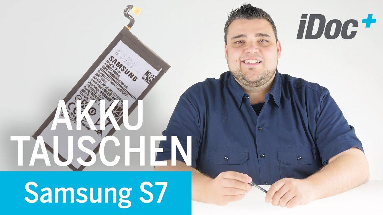 Galaxy S7 Akku Tauschen Reparaturanleitung Youtube
