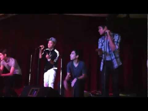 Clip of IM5 performing Runaway Baby by Bruno Mars