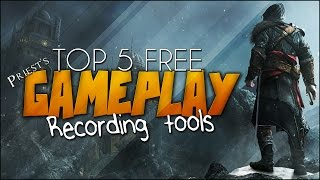 TOP 5 BEST FREE Game Recording / Capture Software 2017