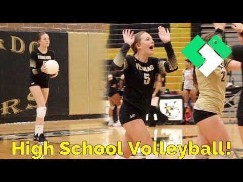 First High School Volleyball Game 🏐 | Clintus.tv