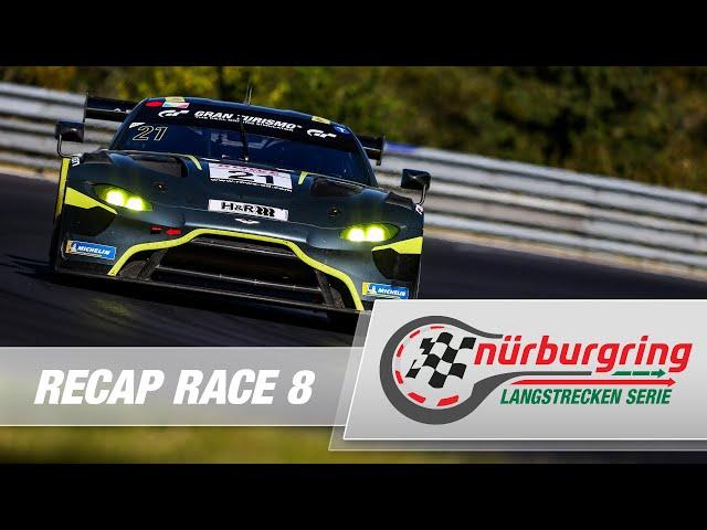 Recap Rennen 8 Nürburgring Langstrecken-Serie (NLS)