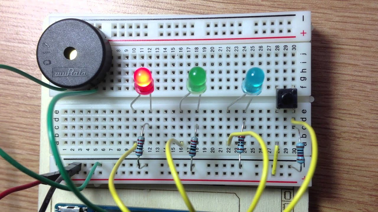 Led music player my first arduino project youtube