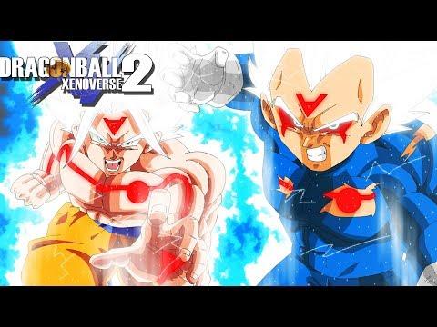 OMNI SUPER SAIYAN GODS?! White God Goku And Vegeta Tag Battles | Dragon Ball Xenoverse 2 Mods