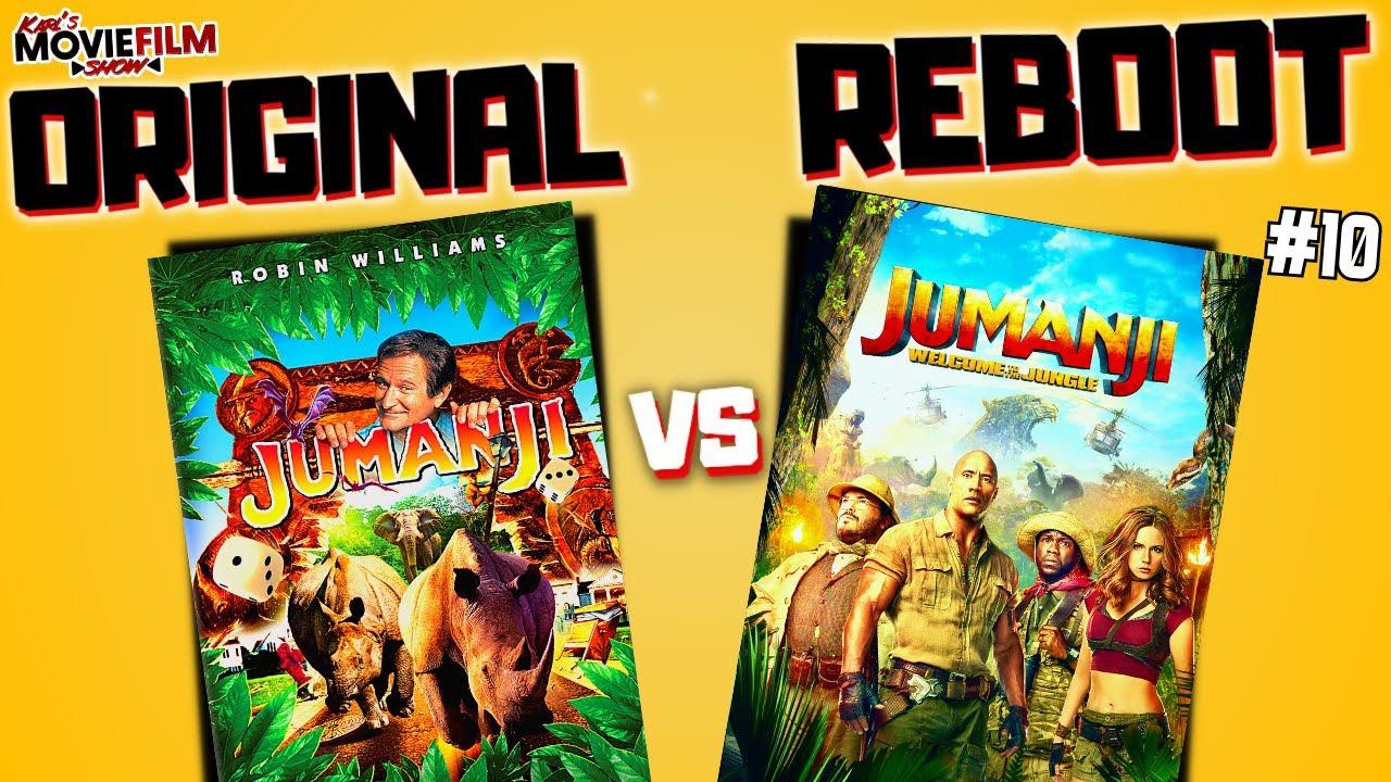Download JUMANJI (1995) Vs Jumanji (2017) - Original VS Reboot #10