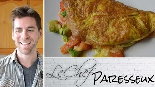 The Lazy Omlette. Nyc Style! Le Chef Paresseux Ep. 5